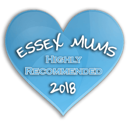 Essex Mums Highly Recommended 2018 Award